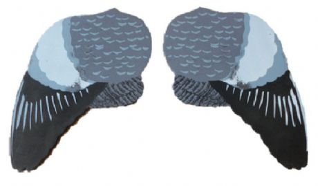 Pair of Wings For Ultimate Flying Pigeon Decoy Upgrade Pigeon Shooting Decoying